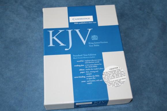 Cambridge Standard Text KJV Bible (1)