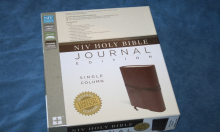 NIV Journal Edition Bible Review