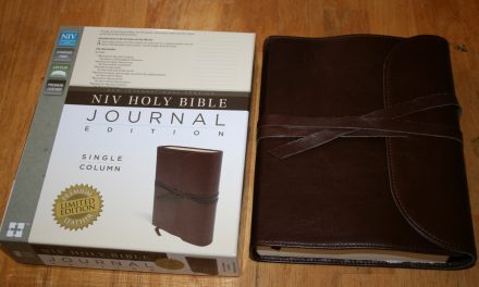 NIV Journaling Bible Sneak Peak