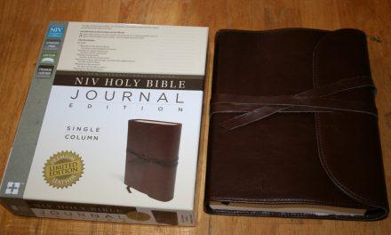 NIV Journaling Bible Sneak Peak