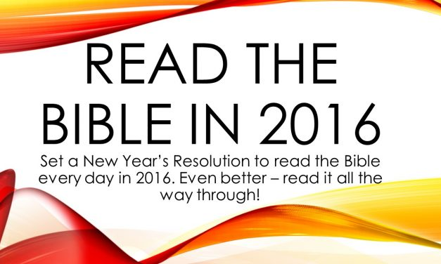 Read the Bible in 2016
