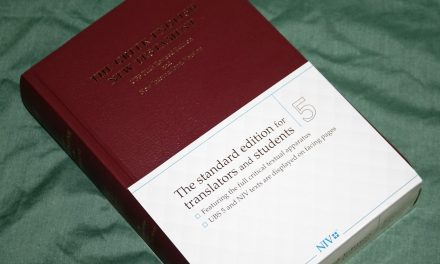 UBS NIV Greek English New Testament Review