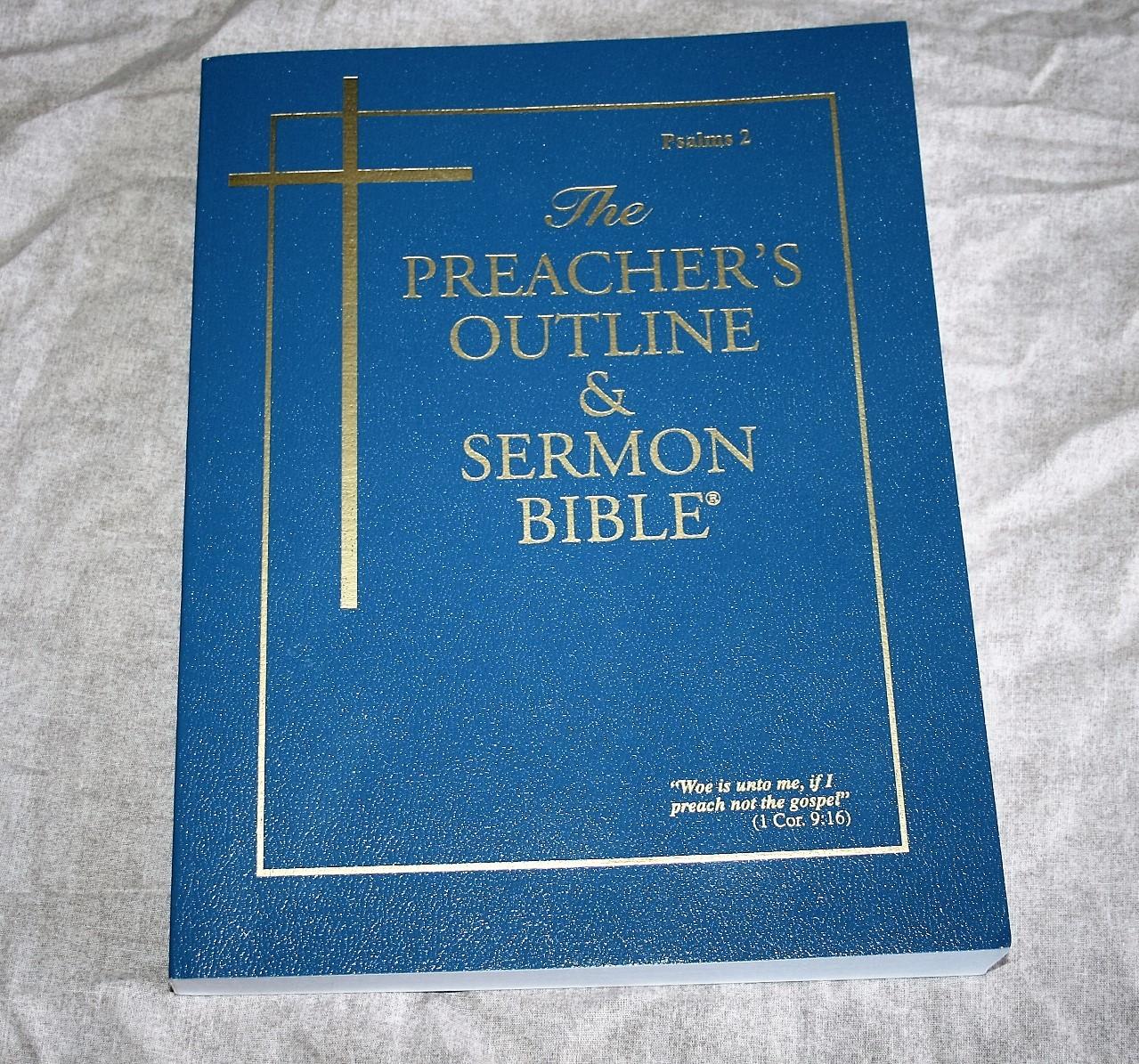 The Preacher S Outline Amp Sermon Bible Psalms Part 2