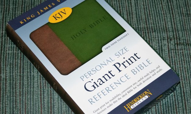 Hendrickson Personal Size Giant Print Reference Bible KJV Review