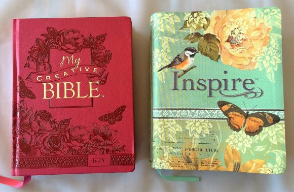My Creative Bible - Inspire Bible Comparision