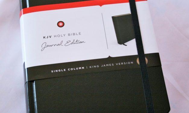 Nelson KJV Journal Edition Bible Review