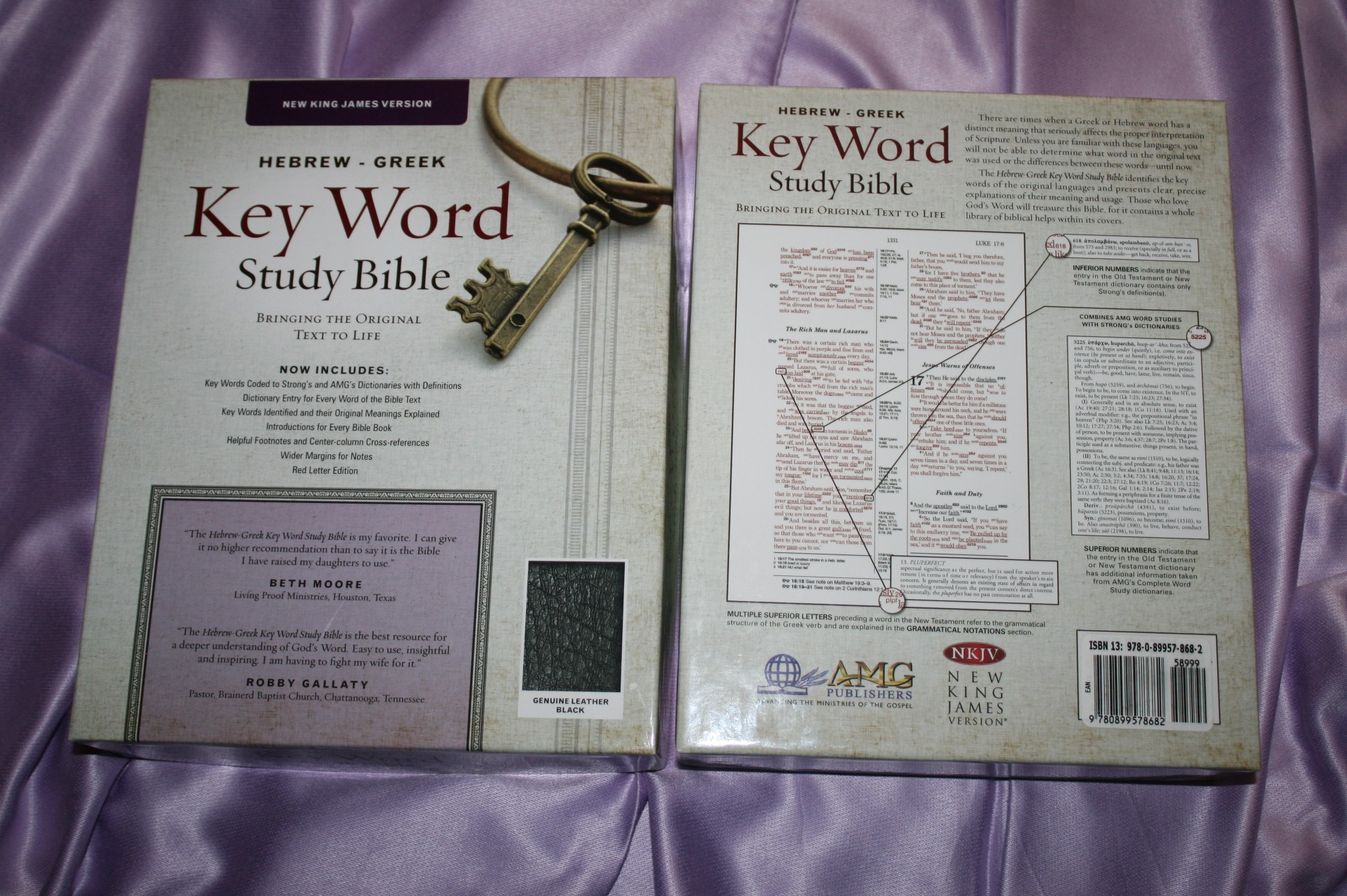Hebrew Greek Keyword Study Bible Nkjv Review Bible