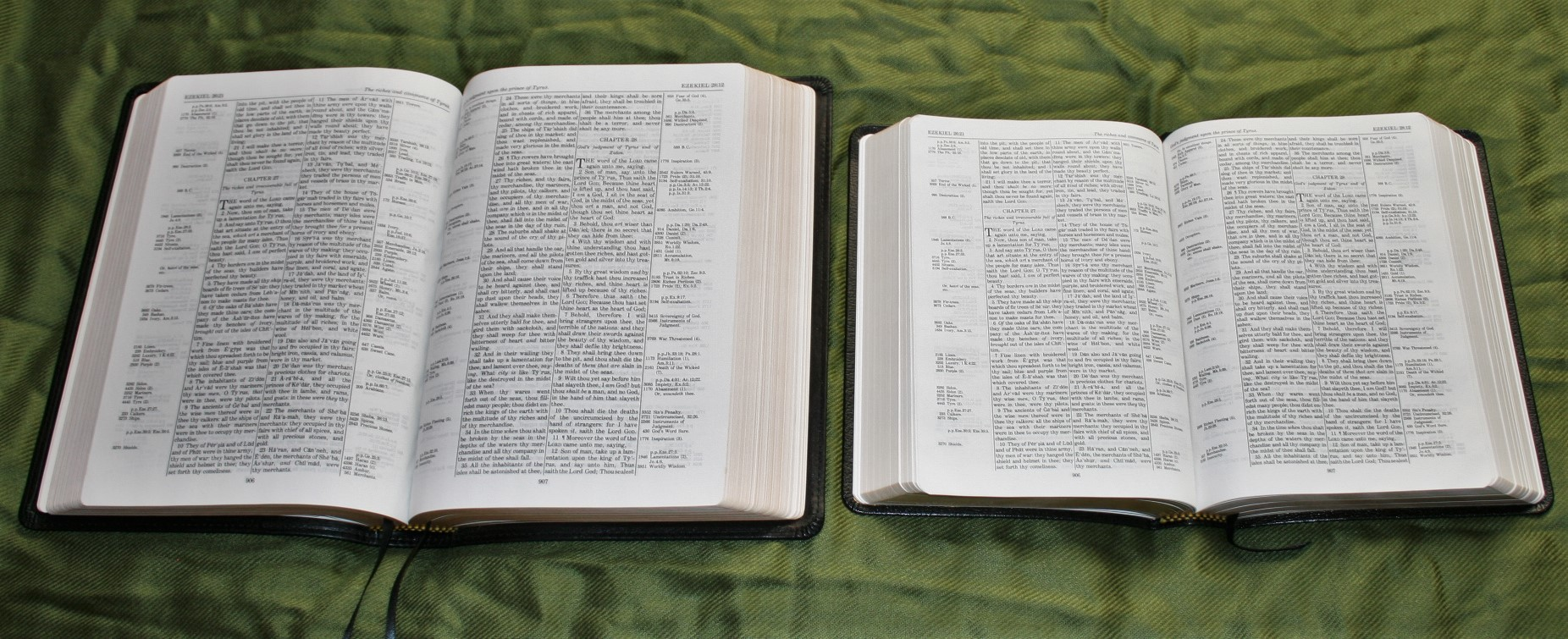 Handy Size Thompson Chain Reference Bible KJV (13)
