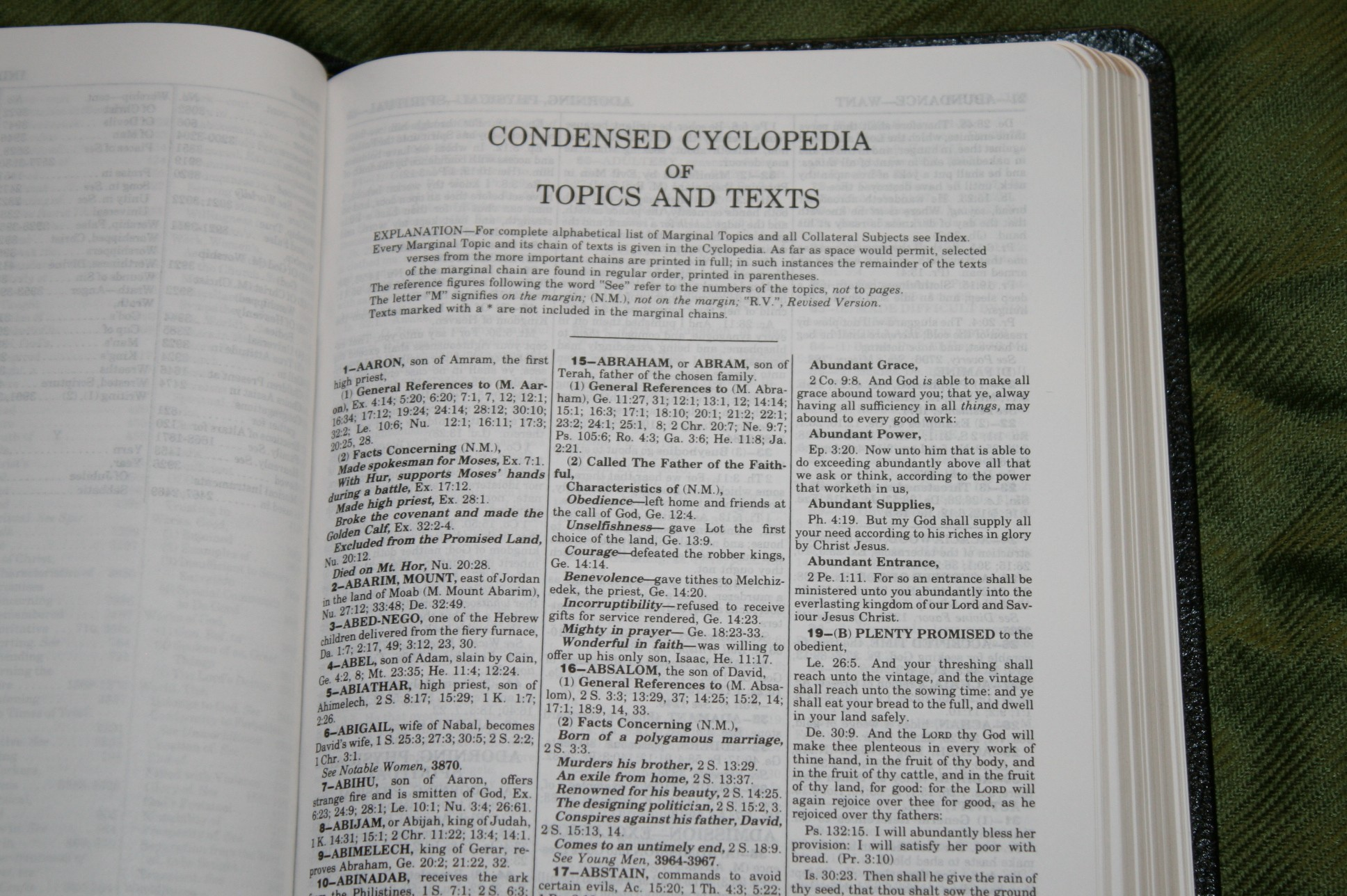 Handy Size Thompson Chain Reference Bible KJV (146)