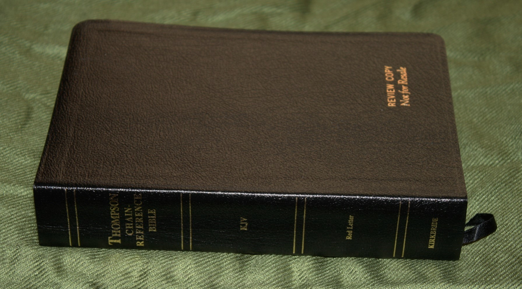 Handy Size Thompson Chain Reference Bible KJV (35)