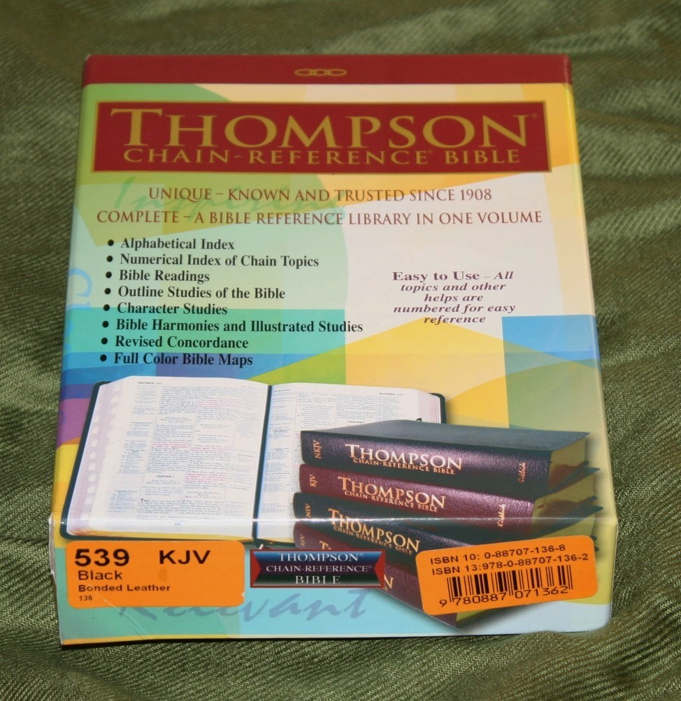 Handy Size Thompson Chain Reference Bible KJV (56)