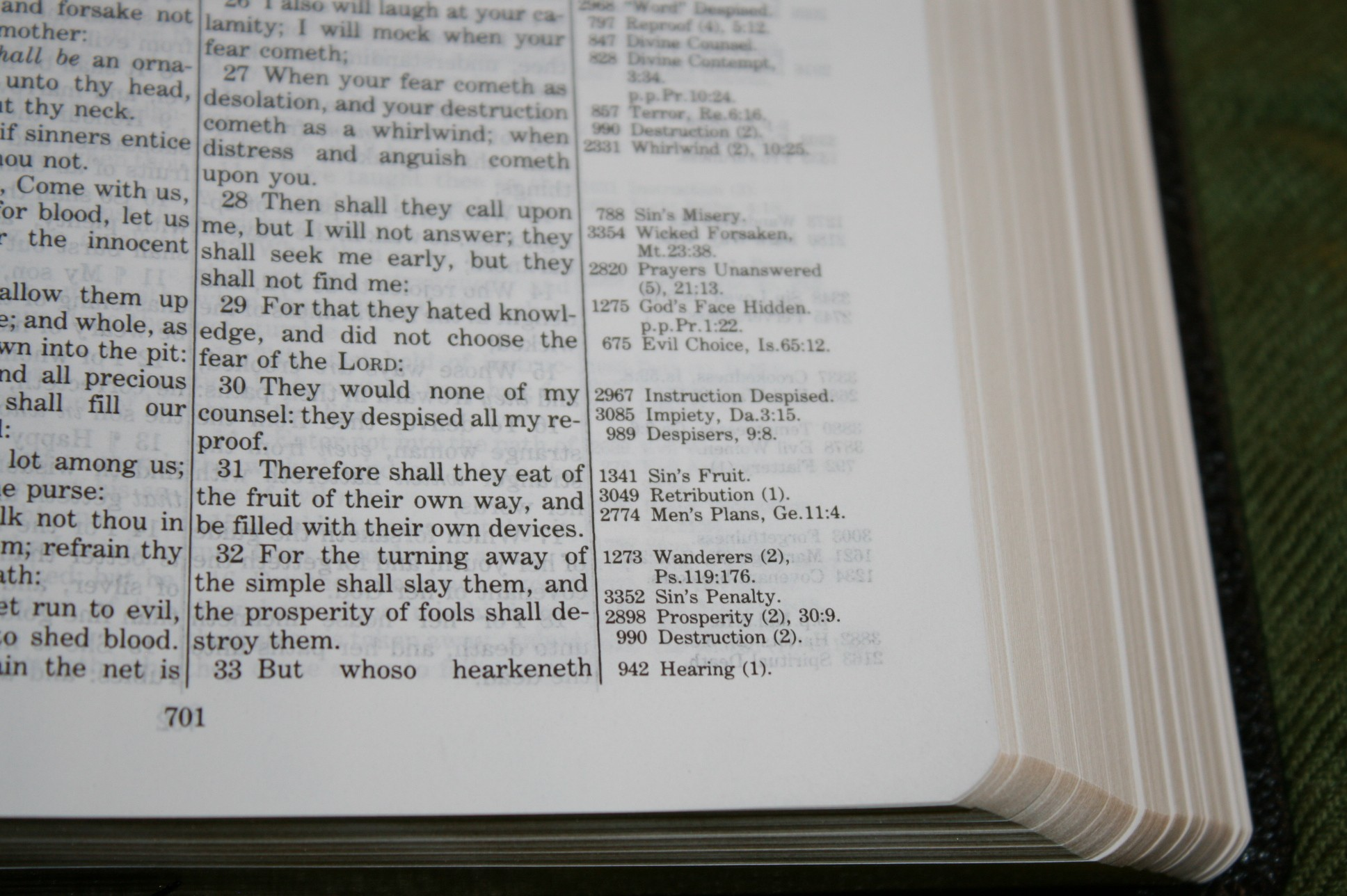 Handy Size Thompson Chain Reference Bible KJV (87)