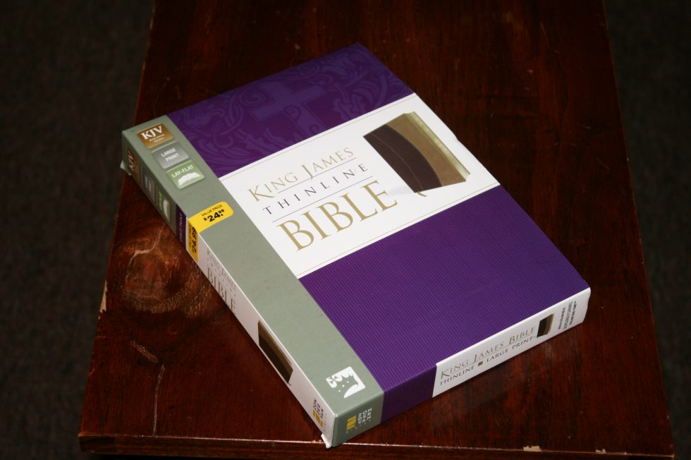 Zondervan Thinline Large Print KJV (4)