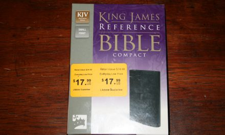 Zondervan KJV Compact Reference Bible – Review