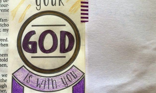 Art Journaling Joshua 1:9 – Strong and Courageous