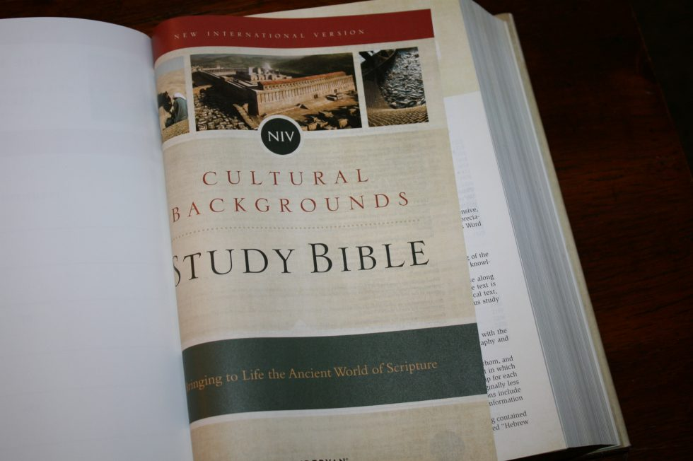 NIV Cultural Backgrounds Study Bible (49)