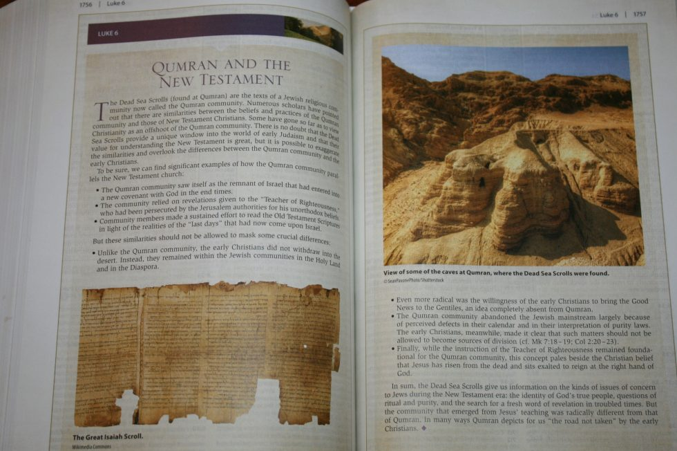 NIV Cultural Backgrounds Study Bible (77)