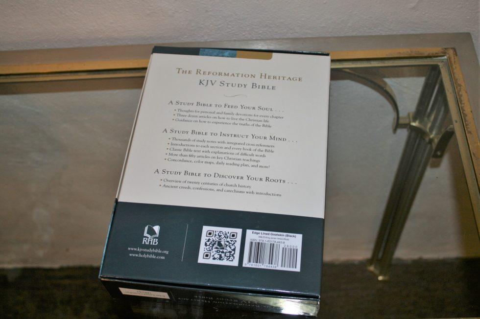 The Reformation Heritage KJV Study Bible (5)