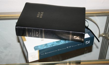 The Reformation Heritage KJV Study Bible – Review