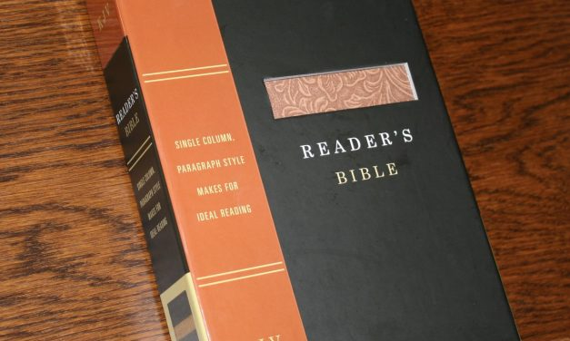 Holman KJV Reader's Bible – Review