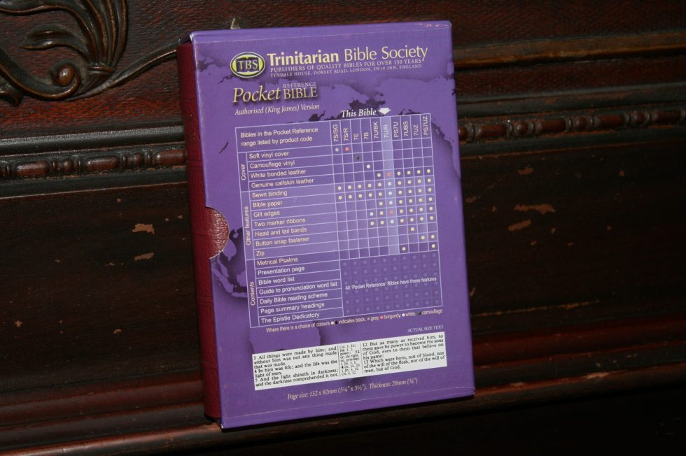 TBS Pocket Reference Bible (4)