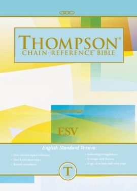 ESV Thompson Chain-Reference Bible Available for Pre-Order