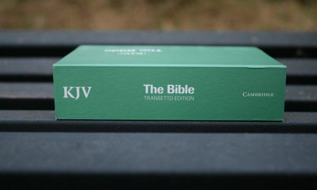 Cambridge Transetto KJV Bible – Review