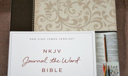 Quick Look – Thomas Nelson NKJV Journal the Word Bible
