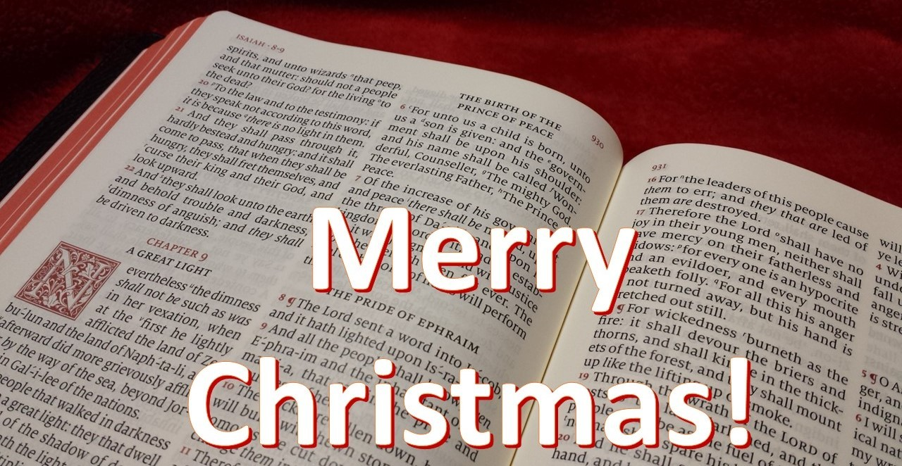 Merry Christmas From Bible Buying Guide Bible Buying Guide