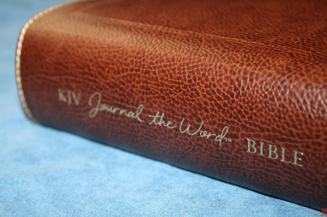 Thomas Nelson Large Print Kjv Journal The Word Bible