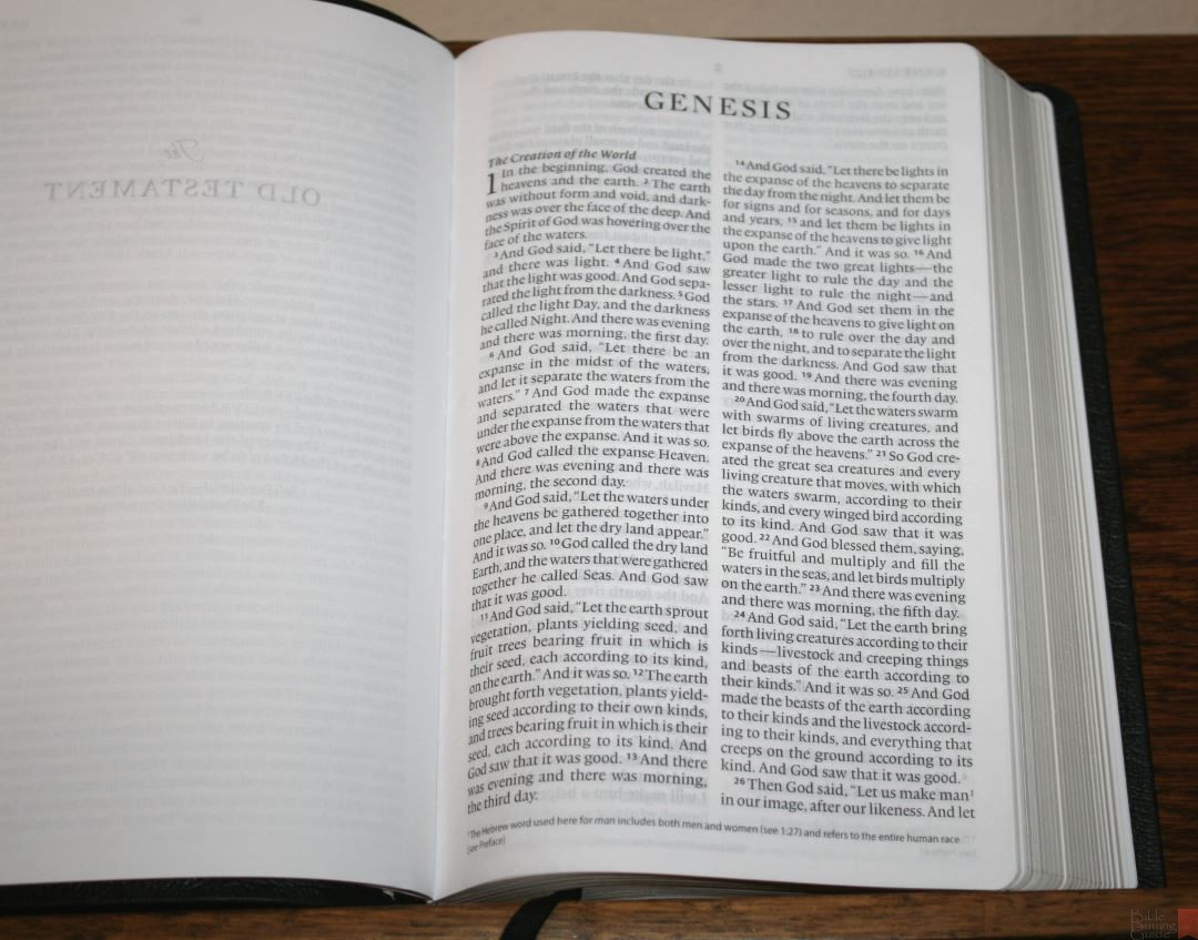 Crossway Large Print Thinline Bible Review 14 Bible