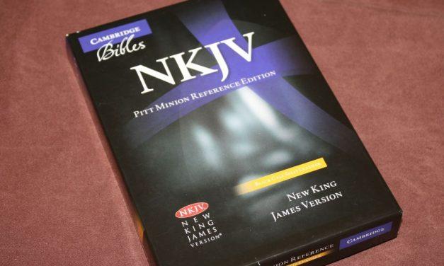 Cambridge NKJV Pitt Minion Reference Bible – Review