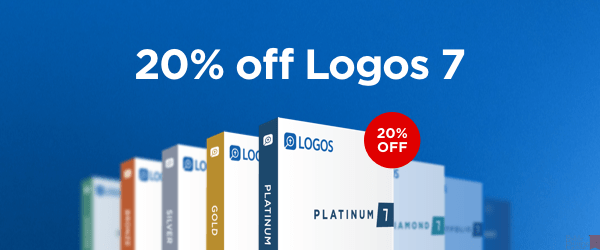 LOGOS Bible Software discount