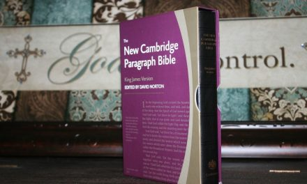 New Cambridge Paragraph Bible Personal Size Calfskin Review