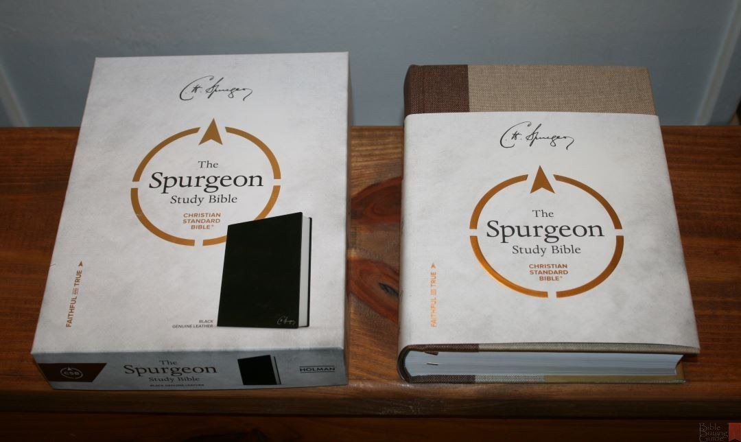 The Spurgeon Study Bible Review Bible Buying Guide