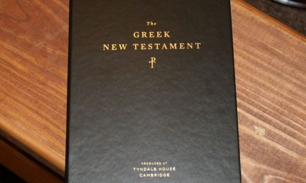 Crossway's The Greek New Testament