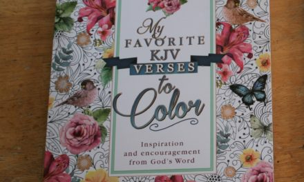 My Favorite KJV Verses to Color Review