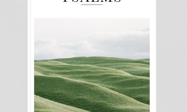 The Bible Beautiful Psalms now on Kickstarter