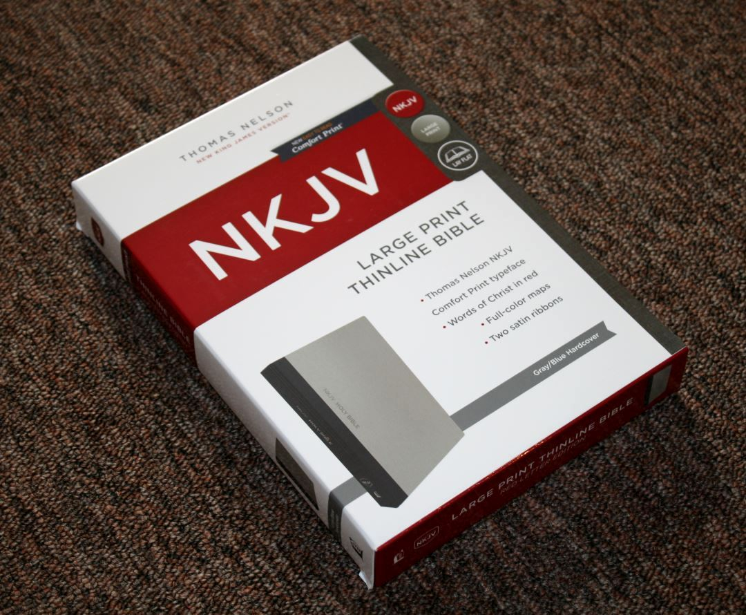 Thomas Nelson Comfort Print NKJV Large Print Thinline Bible Review