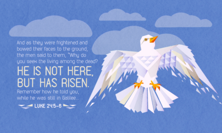 He is not here, but is risen