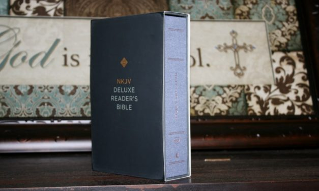 NKJV Deluxe Reader's Bible Review