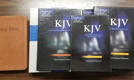 Cambridge Concord Reference Bible KJV Video Review