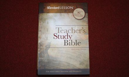 Teacher's Study Bible Review