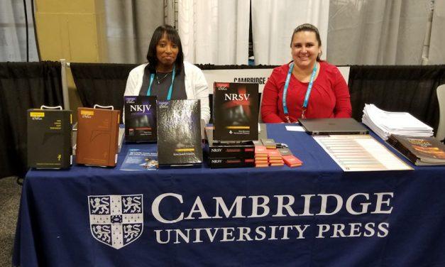 Cambridge Bibles – 2018 CBA Unite