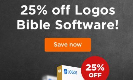 Save 25% on Logos 7