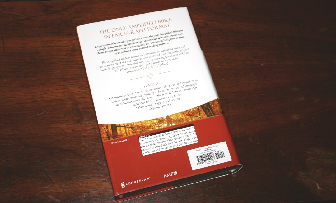 Amplified Reading Bible Review - Bible Buying Guide