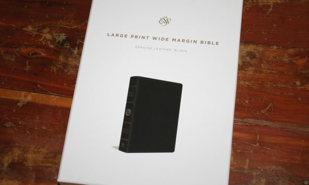 ESV Large Print Wide Margin Bible Review