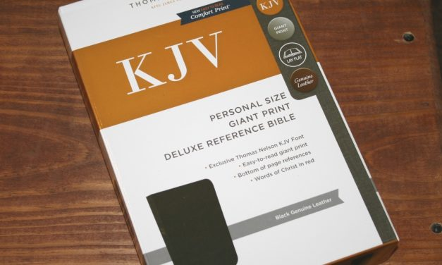 Thomas Nelson KJV Personal Size Giant Print Deluxe Reference Bible Review
