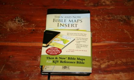 Then and Now Bible Maps Plus KJV Reference Bible