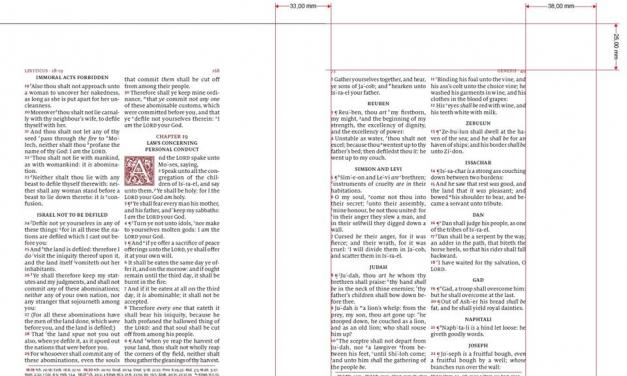 Schuyler Bibles Announces the Wide Margin KJV Canterbury